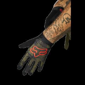 Rękawiczki FOX Flexair Oliwkowy