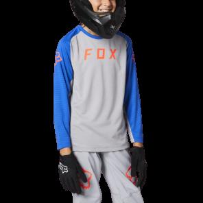 Koszulka Jersey FOX Junior Defend steel grey