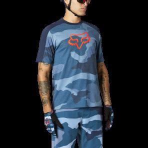 Koszulka Jersey FOX Ranger DR blue camo