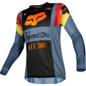 FOX 360 MURC jersey-czarno-pomarańczowy-L