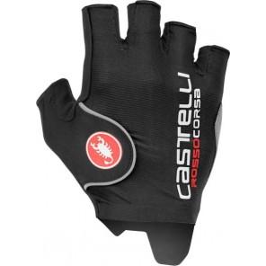 Rękawiczki kolarskie Rosso Corsa Pro, czarne, rozmiar S