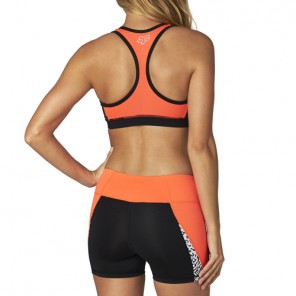 Stanik Sportowy Fox Lady Divizion Tech Sports Flo Orange Xs