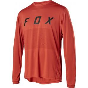 Koszulka Rowerowa Fox Z Długim Rękawem Ranger Fox Orange Crush