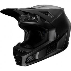 Fox Kask V-3 Composite Solid Matte Black