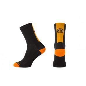 Skarpetki ACCENT Stripe czarny/pomarańczowy