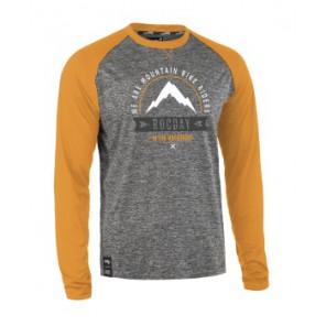 Bluza MOUNT NEW SANITIZED® RECYCLED szary melanż – brązowy XS
