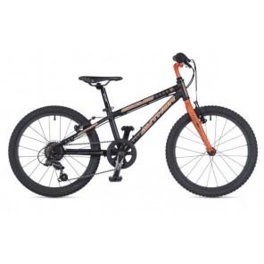 """COSMIC 20 10"""" czarny(mat) /pomarańczowy(fluo), rower AUTHOR"""