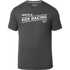 T-shirt Fox Banner Tech Heather Black