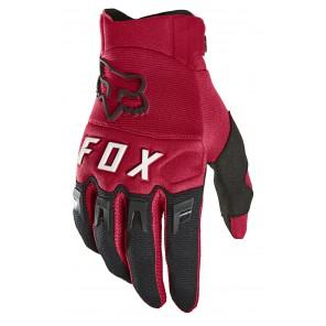Rękawiczki FOX Dirtpaw M czerwone