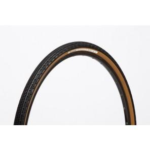Opona GravelKing 700x38C czarno-brązowa aramid (grubszy bieżnik)