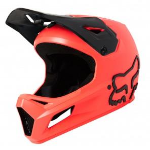 Kask FOX Rampage Pro Carbon Repeater czerwony
