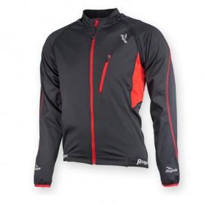 Rogelli bluza MORDANO czarno czerwona S