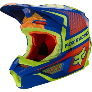 Kask FOX Junior V-1 Oktiv niebieski