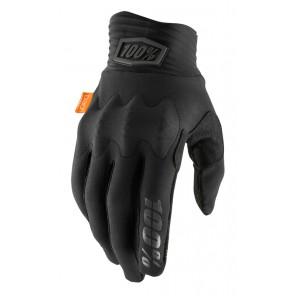 Rękawiczki 100% COGNITO Glove black charcoal roz. XXL (długość dłoni 209-216 mm) (NEW)