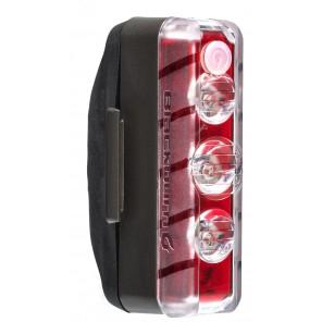 Lampka tylna BLACKBURN DAYBLAZER 125 REAR, 125 lumenów USB czarna (NEW)