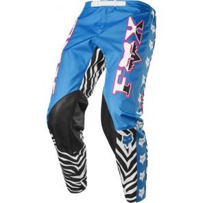 Spodnie Fox 360 Retro Zebra Cyan