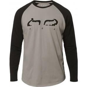 Koszulka Fox Z Długim Rękawem Strap Airline Steel Grey L