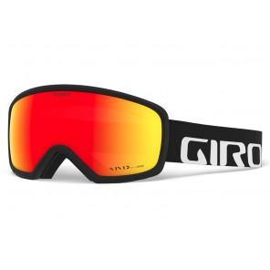 Gogle zimowe GIRO RINGO BLACK WORDMARK (Szyba lustrzana kolorowa VIVID-Carl Zeiss EMBER 36% S2) (DWZ)