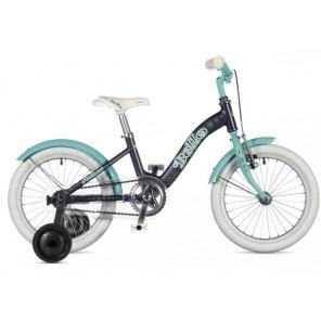 "BELLO 16 9"" grafitowo/zielony, rower AUTHOR"