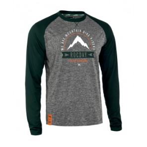 Bluza MOUNT NEW SANITIZED® RECYCLED szary melanż – zielony XXL