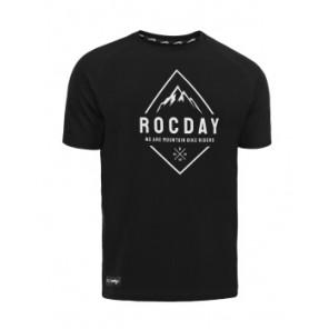Koszulka ROCDAY Peak Sanitized czarny