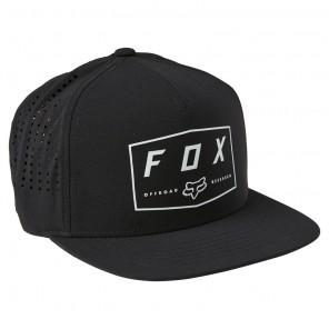 Czapka z daszkiem FOX Badge Snapback OS czarny