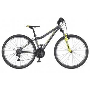 "A-MATRIX 26 13,5"" grafitowo(mat)/żółty(fluo), rower AUTHOR'19"
