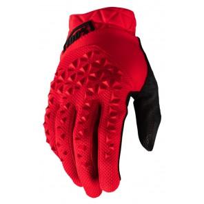 Rękawiczki 100% GEOMATIC Glove red