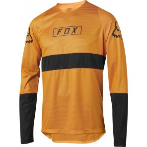 Koszulka Rowerowa Fox Z Długim Rękawem Defend Fox Atomic Orange Xl