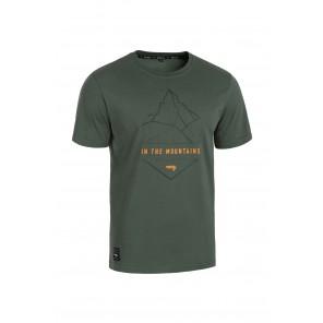 T-shirt ROCDAY Summit zielony