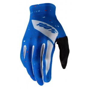 Rękawiczki 100% CELIUM niebieskie