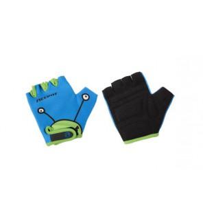 Accent Rękawiczki dziecięce Monster niebiesko-zielone S/M