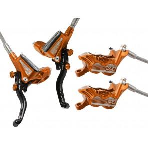 Hope Hamulec Tech 3 V4 Pomarańczowy Tył