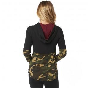 Fox Lady Satellite bluza z kapturem