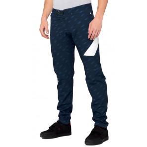 Spodnie męskie 100% R-CORE X Limited Edition Pants Navy White