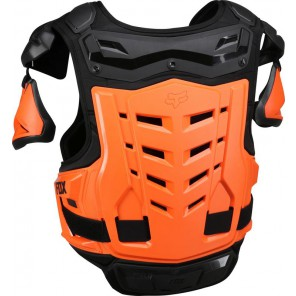 Buzer Fox Adult Raptor Vest Black/orange L/xl
