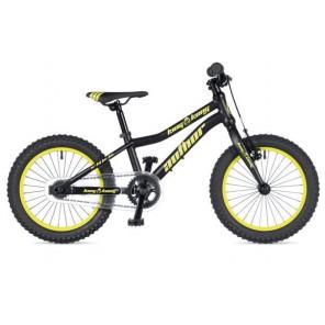 "KING KONG 16 9"" czarno-żółto fluo(mat)/czarny(mat), rower AUTHOR"