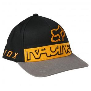Czapka z daszkiem FOX Junior Skew Flexfit YOS czarny
