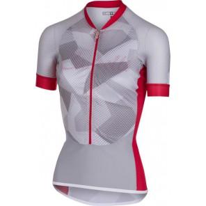 Castelli Koszulka kolarska Climbers W, biało-czerwona,