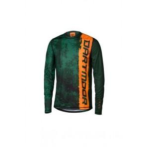 Dartmoor 2018 Koszulka techniczna z długim rękawem Woods L turkusowy