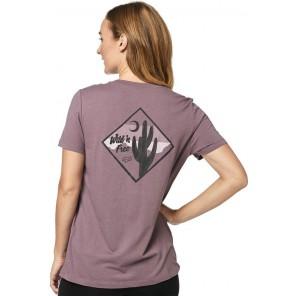 T-shirt Fox Lady Mojave Purple