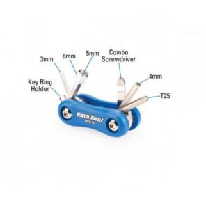 Klucze podręczne MTC-10; zestaw