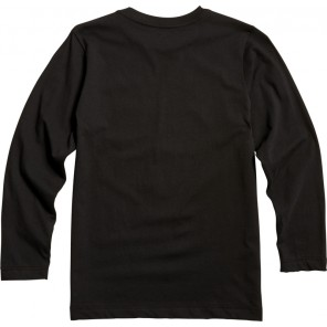 Koszulka Fox Junior Z Długim Rękawem Fox Super Black