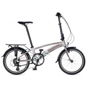 SIMPLEX M srebrno/srebrny, rower AUTHOR'19