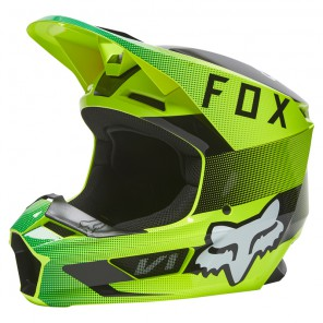 Kask FOX V1 Ridl Yellow