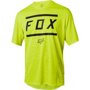 FOX RANGER BARS JERSEY-żółty-S