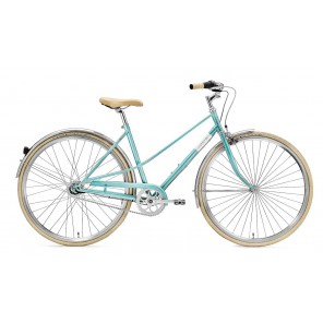Creme Cycles Rower CAFERACER LADY UNO TURQUOISE 3s L 55