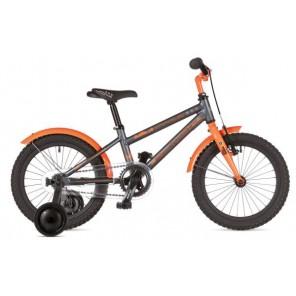 """STYLO 16 9"""" grafitowo(mat)/pomarańczowy(fluo), rower AUTHOR"""