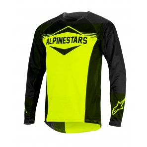 ALPINESTARS MESA LS JERSEY BLACK ACID YELLOW