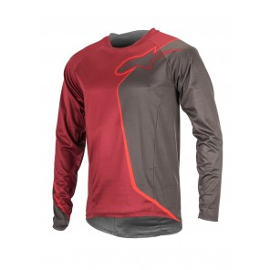 ALPINESTARS SIERRA LS JERSEY RIO RED DARK SHADOW